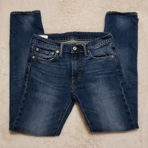 Levis 510 Skinny Medium Wash Jeans sz 28